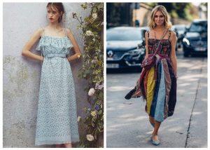 Модные сарафаны и платья сезона весна-лето 2020 года