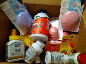 Витамины и косметика из США