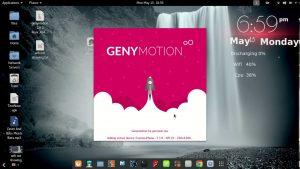 Установка Андроид эмулятора Genymotion под Linux